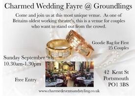 Charmed at Groundlings Wedding Fayre
