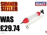 SEALEY VS407 OIL INSPECTION SYRINGE 350ML