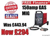 SEALEY SUPERMIG150 PROFESSIONAL MIG WELDER 150AMP 230V