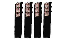 120 Kids Boys Plain Black Cotton Rich Welly Socks Size 4-6 New Clearance Stock Job Lot Wholesale