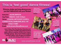 SOSA DANCE FITNESS CLASS WITH JACKIE AT COLEHILL METHODIST CHURCH