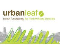Full Time Charity Street Fundraiser in Glasgow for UrbanLeaf - ��10 ph starting rate! S