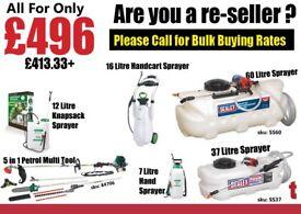 Garden Sprayers and Petrol Multi Tool Bulk Buying Wholesale Rates