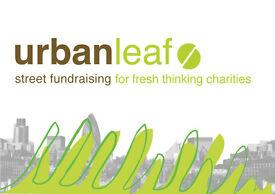 Full Time Charity Street Fundraiser in Edinburgh for UrbanLeaf - £10 ph starting rate! S