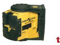 Stabila LAX200 Cross Line Self Levelling Laser + Belt Pouch