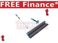 """Refina 228078 48"""" Plaziflex Spatula-rule + Clip On Handle & 2m Adjustable Pole"""