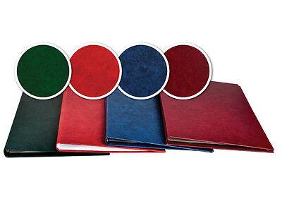 8 Buchbindemappen KOMBISET, Thermomappen HardCover STYLE, Sortiment Thermomappen