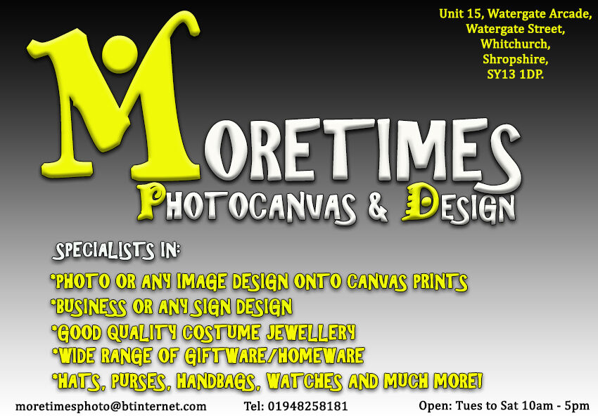 Moretimes Photocanvas and Design.