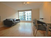 SPACIOUS 1 BEDROOM APARTMENT,FURNISHED,WOOD FLOORS,PRIVATE BALCONY IN Boardwalk Place, London