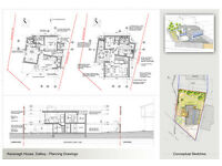 PLANNING APPLICATIONS SERVICES, SPACE ARRANGEMENT, JOINERY PRODUCTION DRAWINGS, VISUALS, SKETCHES