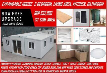 2 Bedroom Cabin Granny Flat / Expandable Building