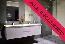 Bathroom Renovation Vanities Basins Shower Toilet Tiles Labour Underwood Logan Area Preview