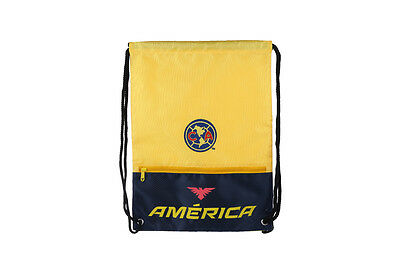 club america backpack soccer book cinch bag sack authentic official drawstring Club America Backpack