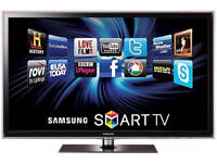 samsung ue32d5520 led smart . goo dcondition. comes with the box, warranty with it
