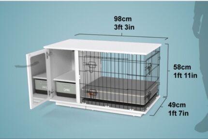 Stylish Dog crate by Omlet
