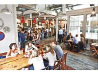Could you be the host of the party every night? Wait Staff needed at busy Kings Cross Pub.