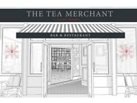 Bar Staff wanted for New Opening in Canary Wharf, The Tea Merchant, £7.75-8.50 DOE, Tronc, Discount