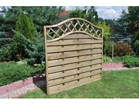 Wooden Solid Fence Panels!!UK Sizes!! TOP EUROPEAN QUALITY!! BARGAIN !! high quality !!