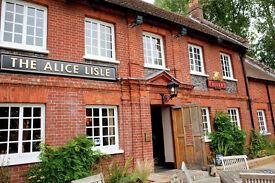 Head Chef Live In - Alice Lisle