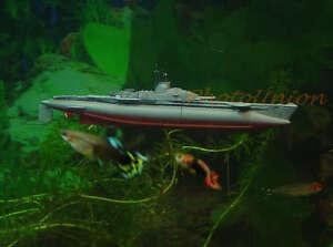 декор аквариума подводная лодка