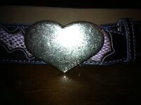 ~Guess Leather Belt size medium~