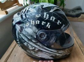 SHARK S900 Antix Motorcycle Motorbike Crash Helmet Size Small 55cm - 5