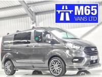 2018 FORD TRANSIT CUSTOM COMBI NEW SHAPE 130PS L1H1 LIKE M SPORT MS-RT GREY