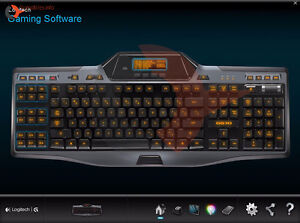 Logitech Gaming Keyboard With LCD Screen and Tons of Macros G510