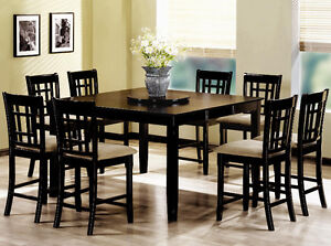 9 Piece Dining Set for Sale