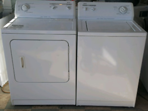 Kenmore super capacity washer dryer set both work great