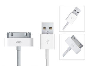 100% GENUINE ORIGINAL APPLE IPAD 1 , 2 ,  3 DATA SYNC 2.0 USB CHARGER CABLE LEAD