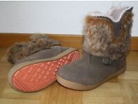 Girls Hi Tec Winter boots UK J 11 (EU 30) – VGC waterproof Thinsulate Prairie 200 WP – faux fur