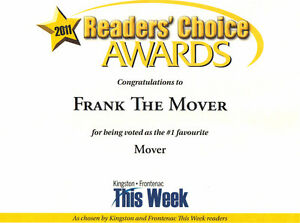 Frank's Worldwide Moving and Storage.  Professional Service. Kingston Kingston Area image 5