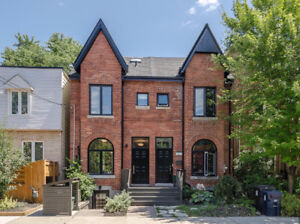 Modern Renovated Victorian House in Leslieville