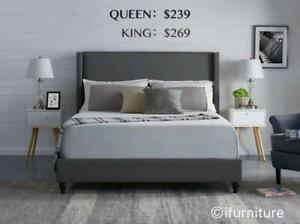 PLATFORM BED IN QUEEN /KING STARTS FROM $239