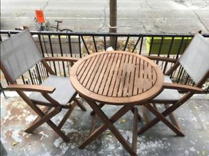 Table  pour patio terrasse