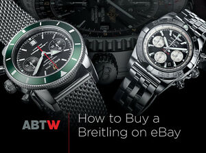 aviator watch breitling pldm  Guide To Buying A Breitling Watch On eBay