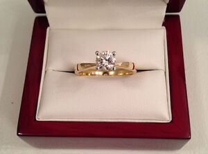 SAVE $5820 18K 0.61ct, VS1, E, GIA Certified!Brand New Condition