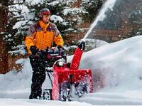 Residential snow removal in Grande Prairie