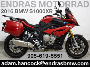 2016 BMW S1000XR - with side cases