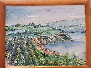 Original paintings- oil, watercolor, ink, pastel Edmonton Edmonton Area image 3