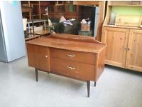 Dressing Table with Mirror and Drawers - Can Deliver For £19