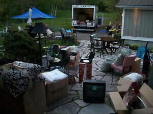 TODAY! Saturday Huge Estate Garage Sale HWY #2 east of Middle Rd