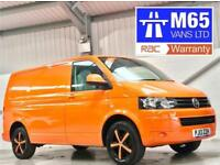 VW VOLKSWAGEN TRANSPORTER 140PS SWB T32 140 BHP HIGHLINE WHEELS AIR CON ORANGE