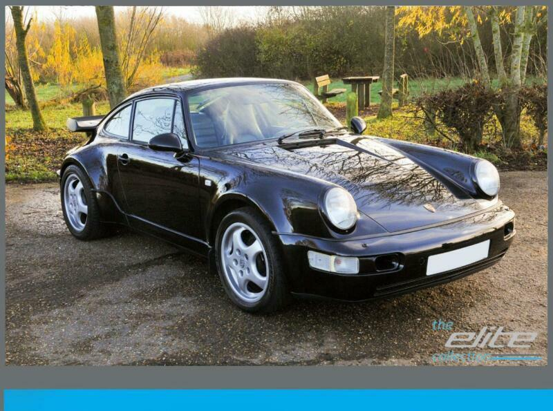 1991 (J) PORSCHE 911 3.3 (964) TURBO LARGE HISTORY FILE WITH ORIGINAL BOOK  PACK 0c665ca450