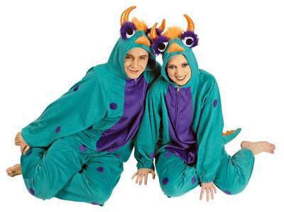 Drachenkostüm Kostüm Overall Plüsch Tier Drache Monster Kinder Damen - Herren Monster Kostüm