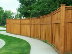 FENCE AND DECK STAINING, SEALING. NEW FENCE & DECK 416-723-4204