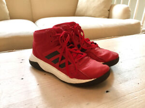 Boys Adidas Basketball Shoes Sneakers Size 5.5 V Good Condition