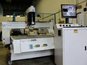 """CNC Router - NEW -  Rig 44 (52"""" x 52"""") Single Phase 220 Volt"""