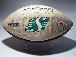 Autographed SASKATCHEWAN ROUGHRIDERS Collectible (2005)